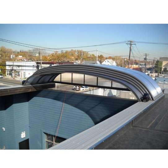 China WDMA Telescopic Swimming Pool Enclosures Telescope Pool Covers
