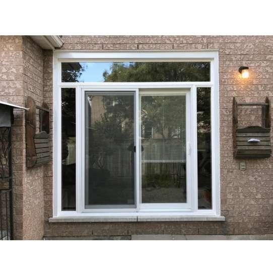 WDMA Thermal Break Custom Extrude Section Louvered Aluminum Profile Sliding Glass Window