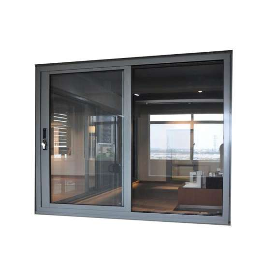 China WDMA Thermal Break Custom Extrude Section Louvered Aluminum Profile Sliding Glass Window