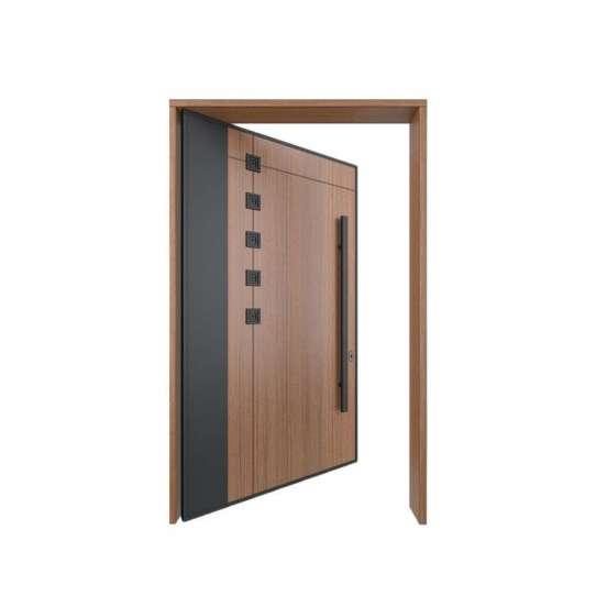 WDMA Us Villa Main Door Pivot Modern Design Exterior Door