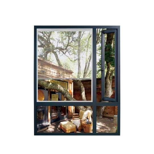 China WDMA Usa Market Durable Joints Windows Wood Clad Aluminum Shutters
