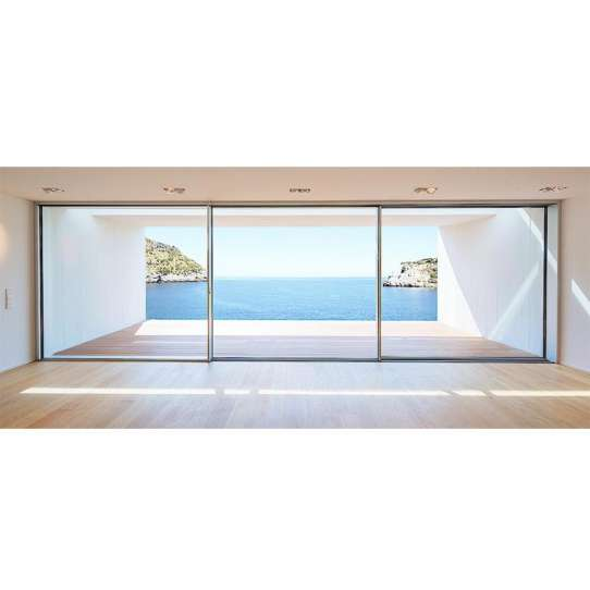 China WDMA Sliding Door With Blinds Between Glass