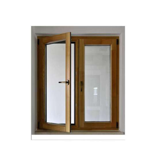 China WDMA Wholesale Glass Door Window Aluminium Clad Wooden Hinged Windows Factory