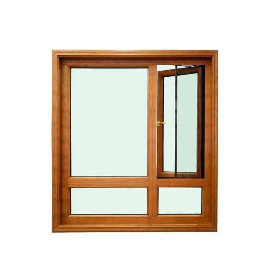 China WDMA Aluminum Alloy Wood Window