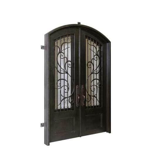 WDMA Wrought Iron Entry Door Exterior Front Door Designs For House