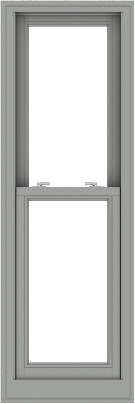 WDMA 20x60 (19.5 x 59.5 inch)  Aluminum Single Double Hung Window without Grids-1
