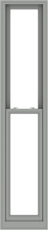 WDMA 20x96 (19.5 x 95.5 inch)  Aluminum Single Double Hung Window without Grids-1