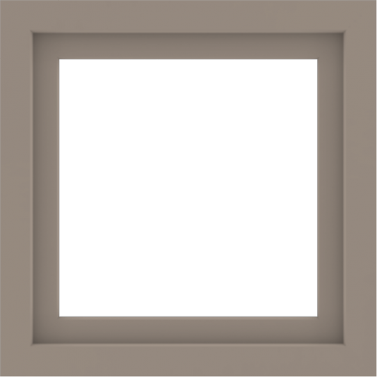 WDMA 24x24 (23.5 x 23.5 inch) Vinyl uPVC White Picture Window without Grids-3