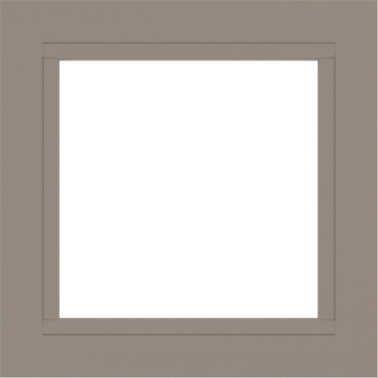 WDMA 24x24 (23.5 x 23.5 inch) Vinyl uPVC White Picture Window without Grids-4