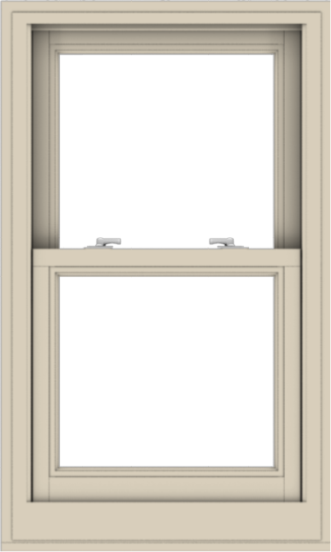 WDMA 24x40 (23.5 x 39.5 inch)  Aluminum Single Hung Double Hung Window without Grids-2
