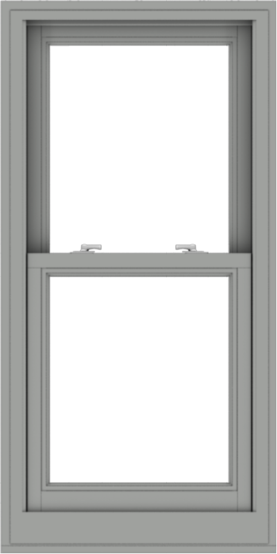 WDMA 24x48 (23.5 x 47.5 inch)  Aluminum Single Double Hung Window without Grids-1