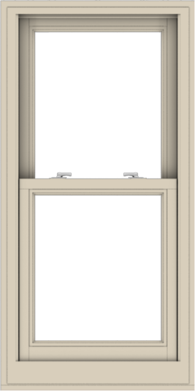 WDMA 24x48 (23.5 x 47.5 inch)  Aluminum Single Hung Double Hung Window without Grids-2