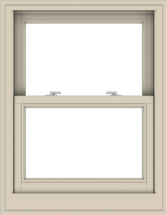 WDMA 28x36 (27.5 x 35.5 inch)  Aluminum Single Hung Double Hung Window without Grids-2