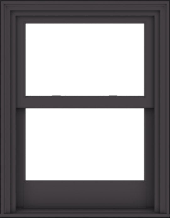 WDMA 28x36 (27.5 x 35.5 inch)  Aluminum Single Hung Double Hung Window without Grids-3