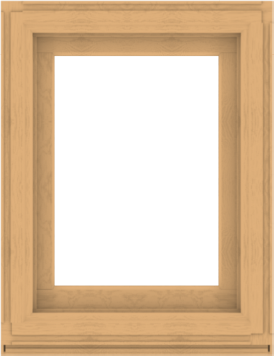 WDMA 28x36 (27.5 x 35.5 inch) Composite Wood Aluminum-Clad Picture Window without Grids-3