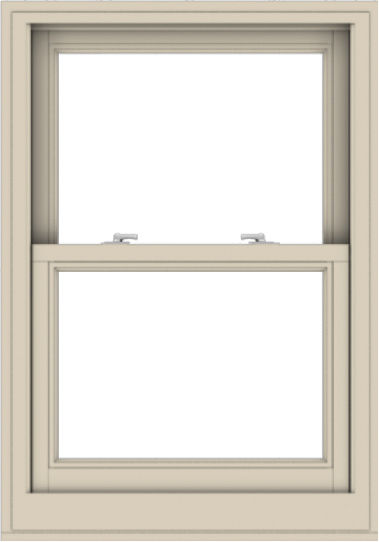 WDMA 28x40 (27.5 x 39.5 inch)  Aluminum Single Hung Double Hung Window without Grids-2