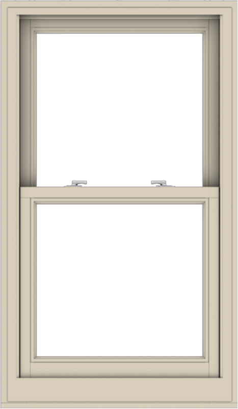 WDMA 28x48 (27.5 x 47.5 inch)  Aluminum Single Hung Double Hung Window without Grids-2