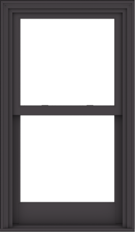 WDMA 28x48 (27.5 x 47.5 inch)  Aluminum Single Hung Double Hung Window without Grids-3