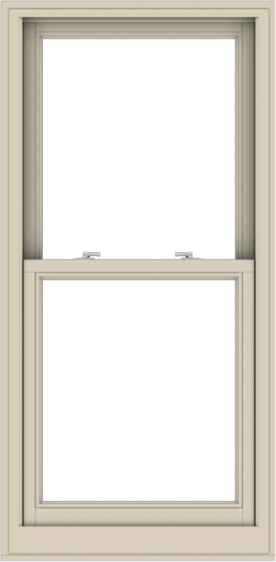 WDMA 28x57 (27.5 x 56.5 inch)  Aluminum Single Hung Double Hung Window without Grids-2