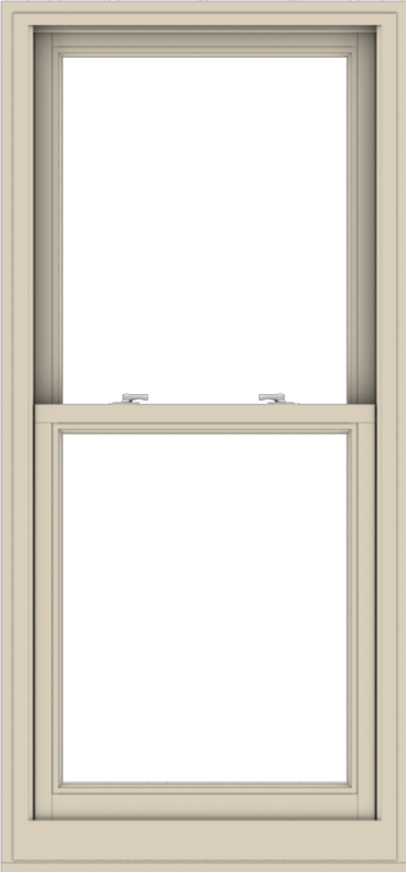 WDMA 28x60 (27.5 x 59.5 inch)  Aluminum Single Hung Double Hung Window without Grids-2