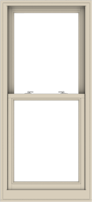 WDMA 28x61 (27.5 x 60.5 inch)  Aluminum Single Hung Double Hung Window without Grids-2