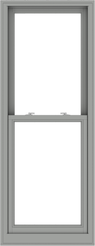 WDMA 28x72 (27.5 x 71.5 inch)  Aluminum Single Double Hung Window without Grids-1