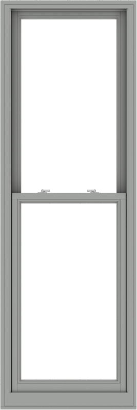 WDMA 28x84 (27.5 x 83.5 inch)  Aluminum Single Double Hung Window without Grids-1