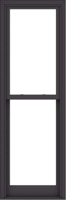 WDMA 28x84 (27.5 x 83.5 inch)  Aluminum Single Hung Double Hung Window without Grids-3