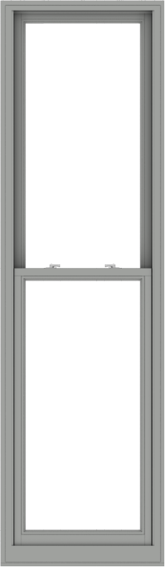 WDMA 28x96 (27.5 x 95.5 inch)  Aluminum Single Double Hung Window without Grids-1