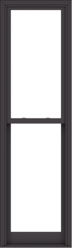 WDMA 28x96 (27.5 x 95.5 inch)  Aluminum Single Hung Double Hung Window without Grids-3