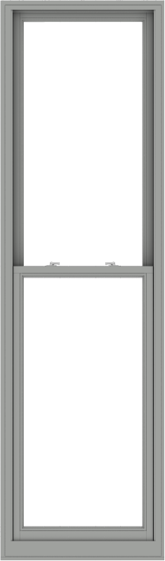 WDMA 30x102 (29.5 x 101.5 inch)  Aluminum Single Double Hung Window without Grids-1