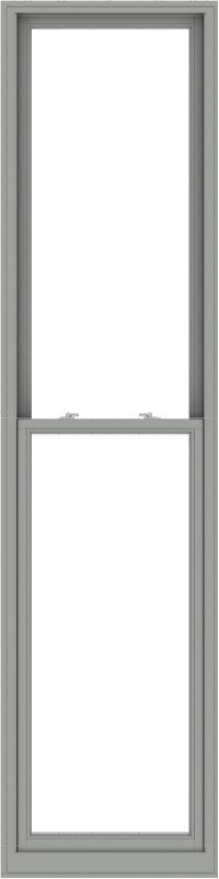 WDMA 30x120 (29.5 x 119.5 inch)  Aluminum Single Double Hung Window without Grids-1