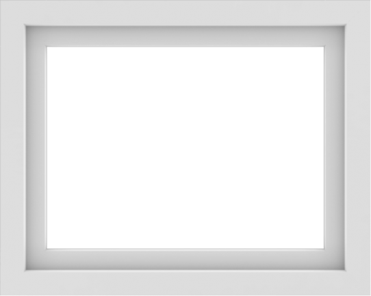 WDMA 30x24 (29.5 x 23.5 inch) Vinyl uPVC White Picture Window without Grids-1