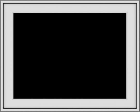 WDMA 30x24 (29.5 x 23.5 inch) Vinyl uPVC White Push out Casement Window without Grids Exterior