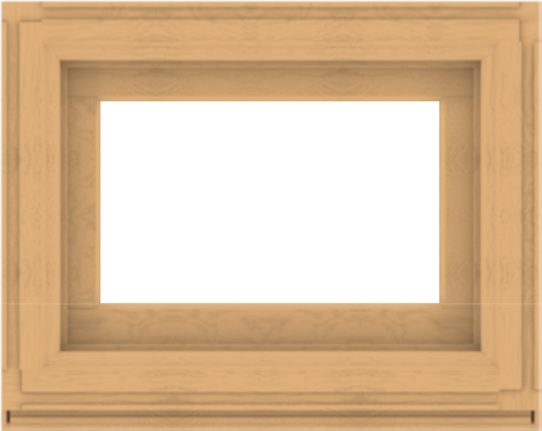 WDMA 30x24 (29.5 x 23.5 inch) Composite Wood Aluminum-Clad Picture Window without Grids-3