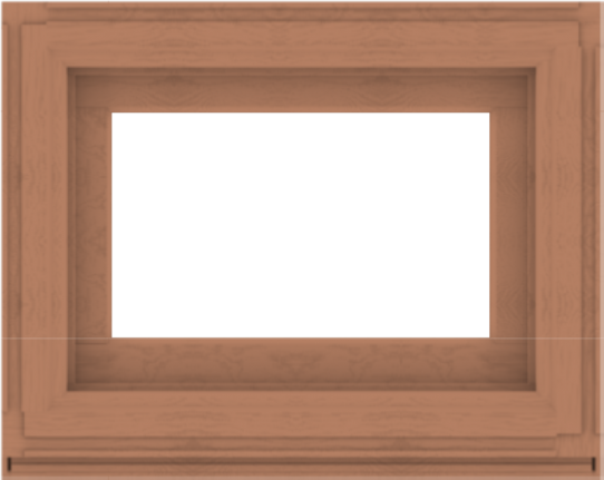 WDMA 30x24 (29.5 x 23.5 inch) Composite Wood Aluminum-Clad Picture Window without Grids-4
