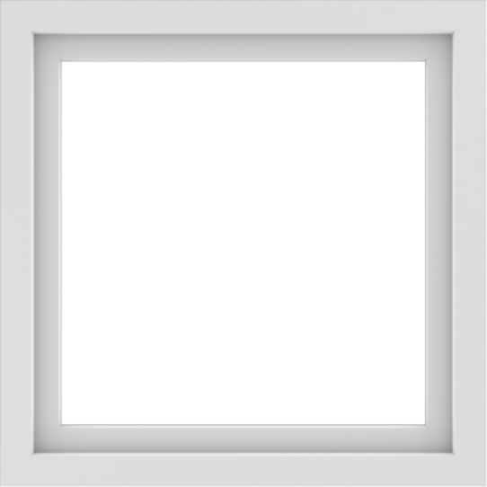 WDMA 30x30 (29.5 x 29.5 inch) Vinyl uPVC White Picture Window without Grids-1