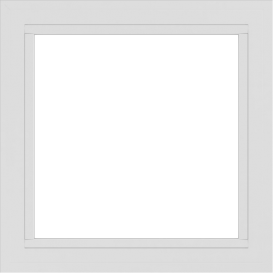 WDMA 30x30 (29.5 x 29.5 inch) Vinyl uPVC White Picture Window without Grids-2