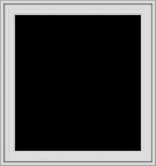 WDMA 30x32 (29.5 x 31.5 inch) White Vinyl uPVC Crank out Casement Window without Grids Exterior
