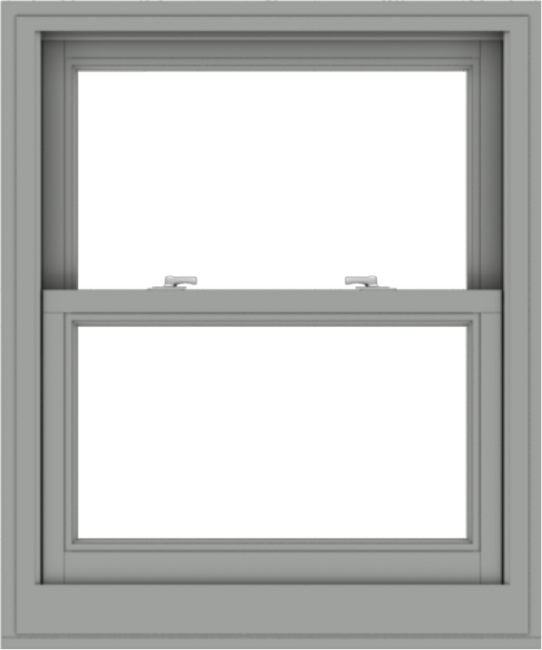 WDMA 30x36 (29.5 x 35.5 inch)  Aluminum Single Double Hung Window without Grids-1