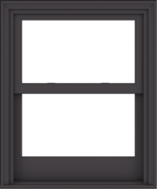 WDMA 30x36 (29.5 x 35.5 inch)  Aluminum Single Hung Double Hung Window without Grids-3