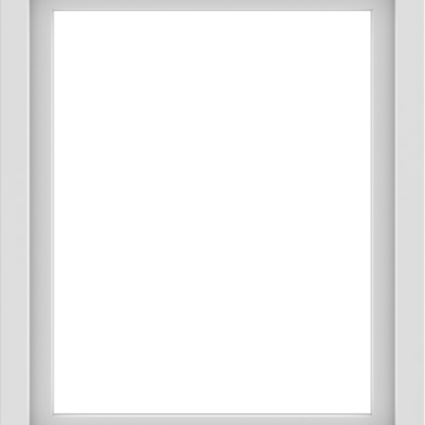 WDMA 30x36 (29.5 x 35.5 inch) Vinyl uPVC White Picture Window without Grids-1