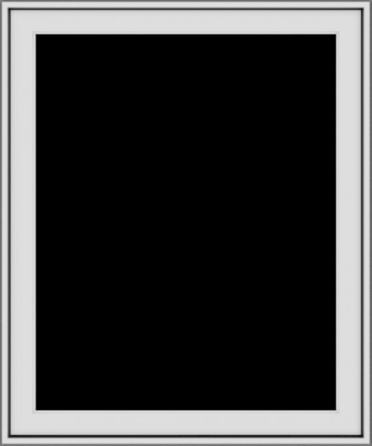 WDMA 30x36 (29.5 x 35.5 inch) Vinyl uPVC White Push out Casement Window without Grids Exterior