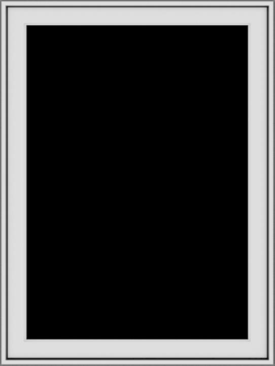 WDMA 30x40 (29.5 x 39.5 inch) Vinyl uPVC White Push out Casement Window without Grids Exterior