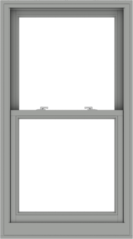 WDMA 30x54 (29.5 x 53.5 inch)  Aluminum Single Double Hung Window without Grids-1