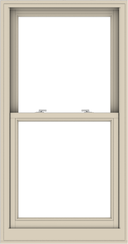 WDMA 30x57 (29.5 x 56.5 inch)  Aluminum Single Hung Double Hung Window without Grids-2