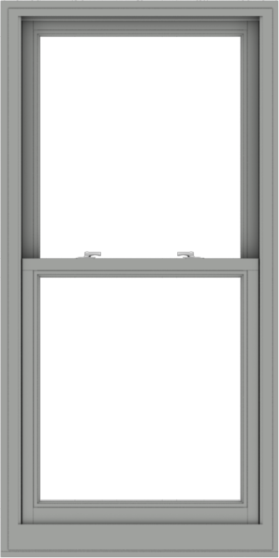 WDMA 30x60 (29.5 x 59.5 inch)  Aluminum Single Double Hung Window without Grids-1