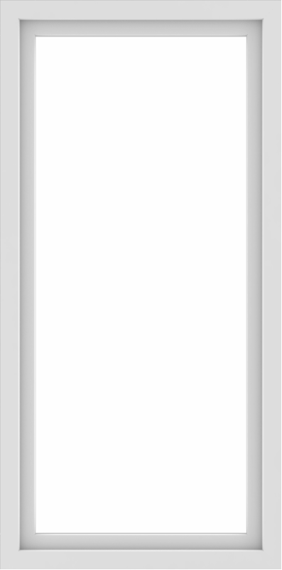 WDMA 30x60 (29.5 x 59.5 inch) Vinyl uPVC White Picture Window without Grids-1