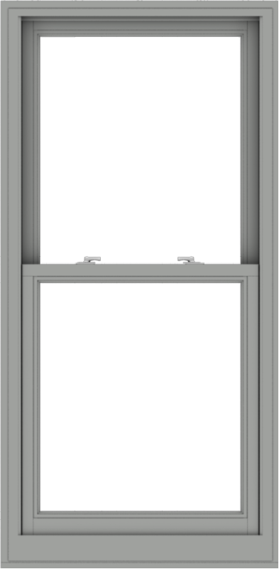 WDMA 30x61 (29.5 x 60.5 inch)  Aluminum Single Double Hung Window without Grids-1