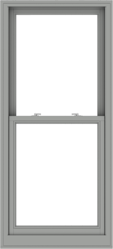 WDMA 30x66 (29.5 x 65.5 inch)  Aluminum Single Double Hung Window without Grids-1
